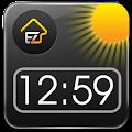 App EZ Clock & Weather Widget apk for kindle fire
