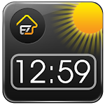 EZ Clock & Weather Widget v1.9.6 Apk