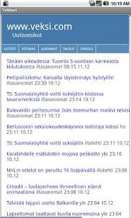 Uutiset- screenshot thumbnail