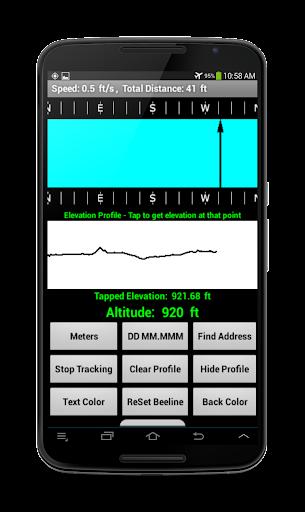 Compass Beeline Altitude Track