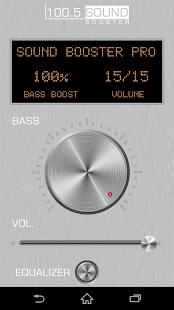 Sound Booster Pro - náhled