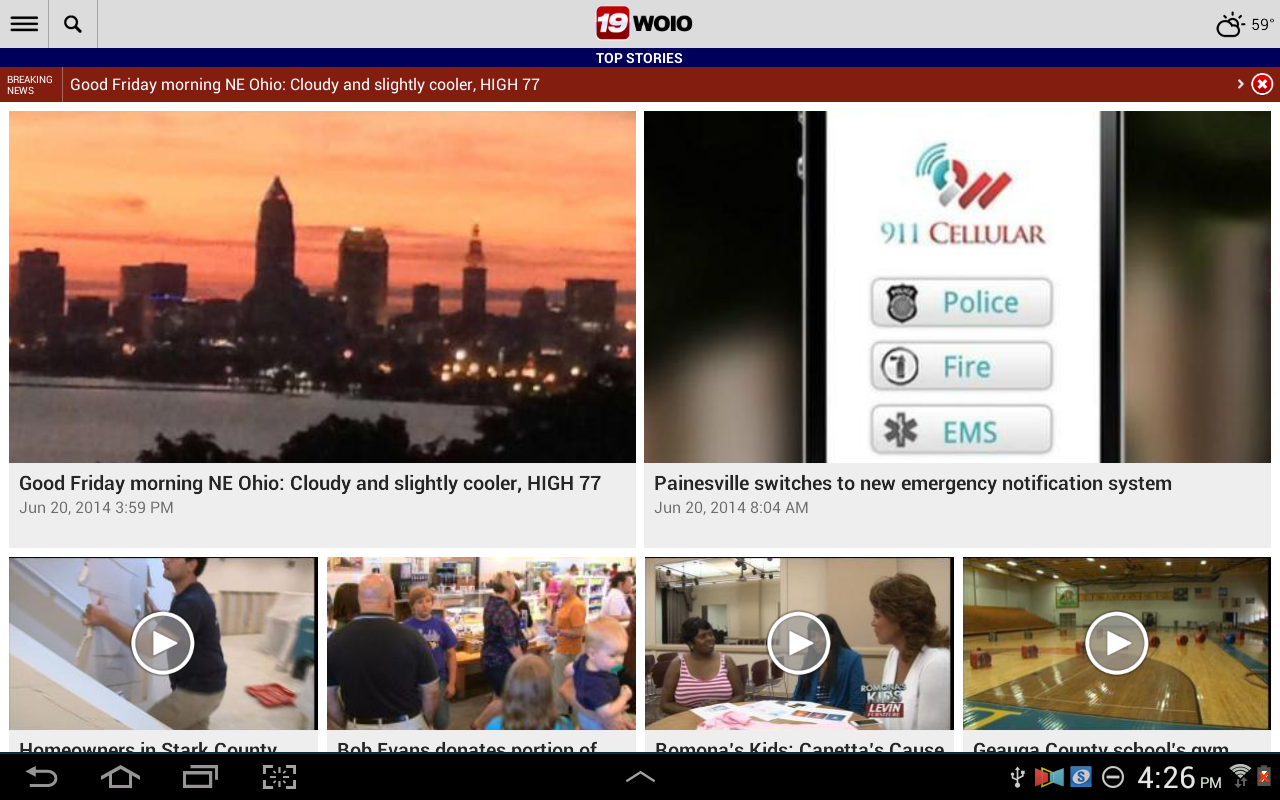 WOIO Cleveland19 News- screenshot