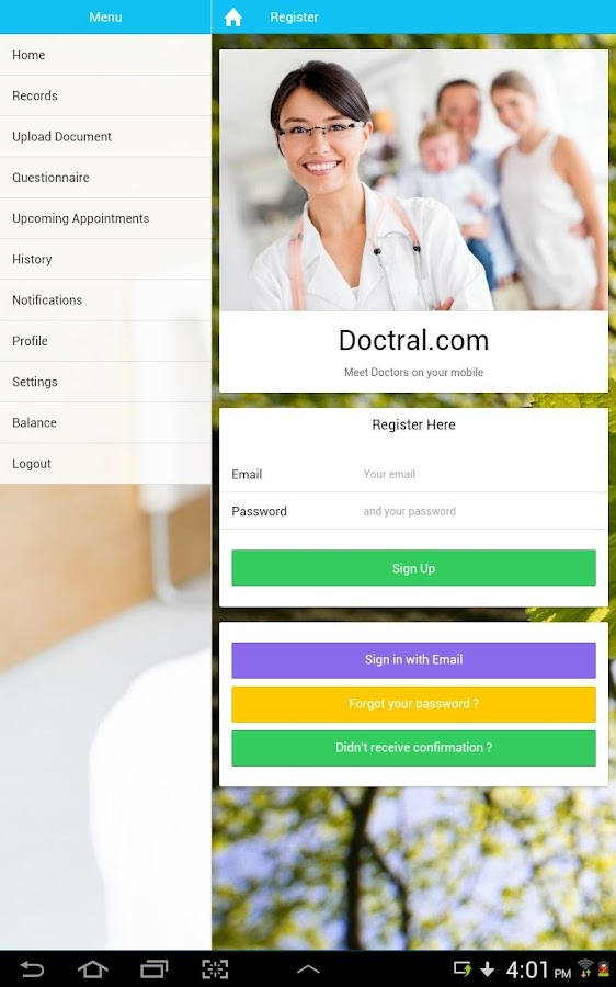 Doctral- screenshot