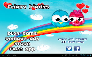 Screenshot of Flirty Birdys