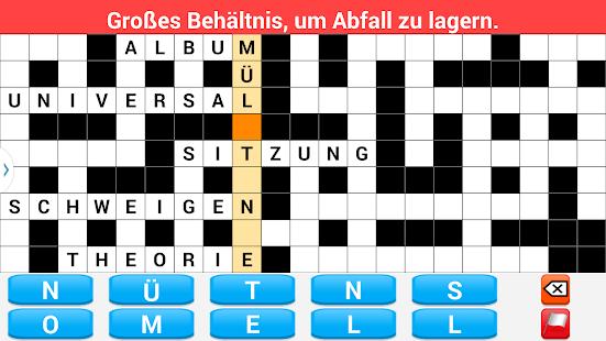 Kreuzworträtsel Deutsch 拼字 App-癮科技App