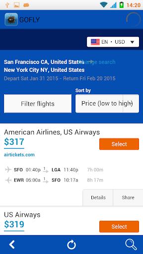 【免費旅遊App】GOFLY - 机票搜索引擎 特价机票,-APP點子