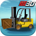 3D Forklift Parking Driving icon