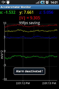 Accelerometer Monitor - screenshot thumbnail