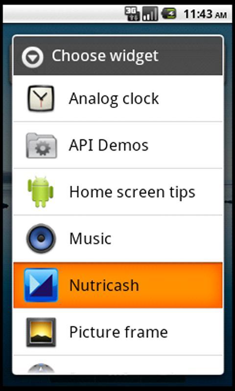 Nutricash – Consulta de saldos - screenshot