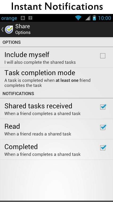 Yoobeo To do List & Task Share - screenshot