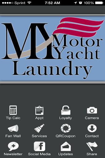 Motor Yacht Laundry