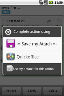 Save my Attach - screenshot thumbnail