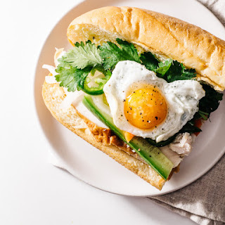 Egg & Turkey Banh Mi