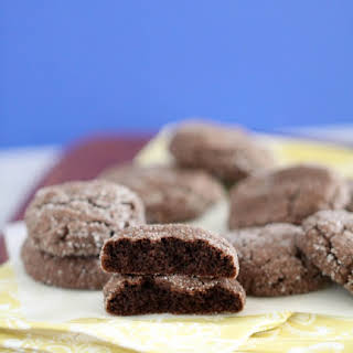 Soft Chocolate Gingersnap Cookies.