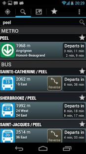 Montreal Metro & Bus- screenshot thumbnail