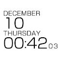 Simple LiveWallpaper Clock logo