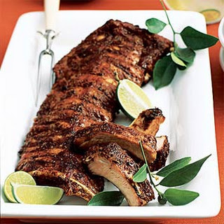 Spice-Rubbed Sticky Ribs.