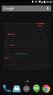 Wordy Clock - screenshot thumbnail
