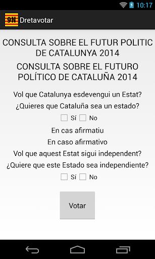 Dret a Votar - 9N