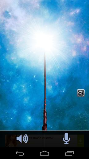 Magic wand torch
