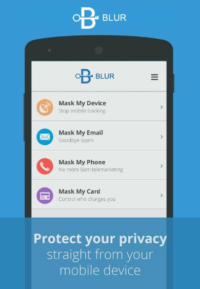 Blur- Passwords Wallet Privacy- screenshot