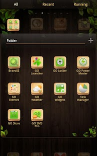 wooden box Theme - screenshot thumbnail