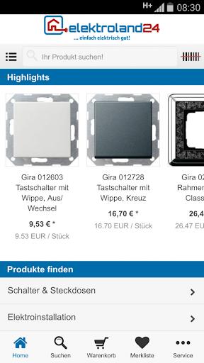 【免費購物App】elektroland24.de-APP點子