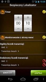 Bezpieczny Lokalizator 3.5 Screenshot 5