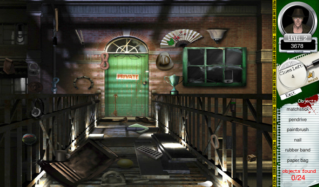 Murder Mystery Hidden Objects - screenshot