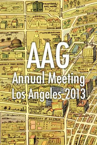 AAG Annual Meeting 2013