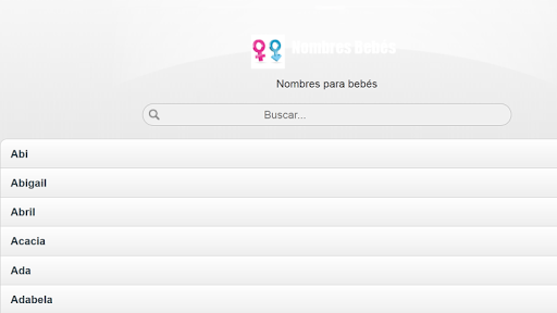 【免費生活App】Nombres para bebes-APP點子