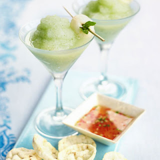 Frozen Lychee & Mint Cocktails Recipe