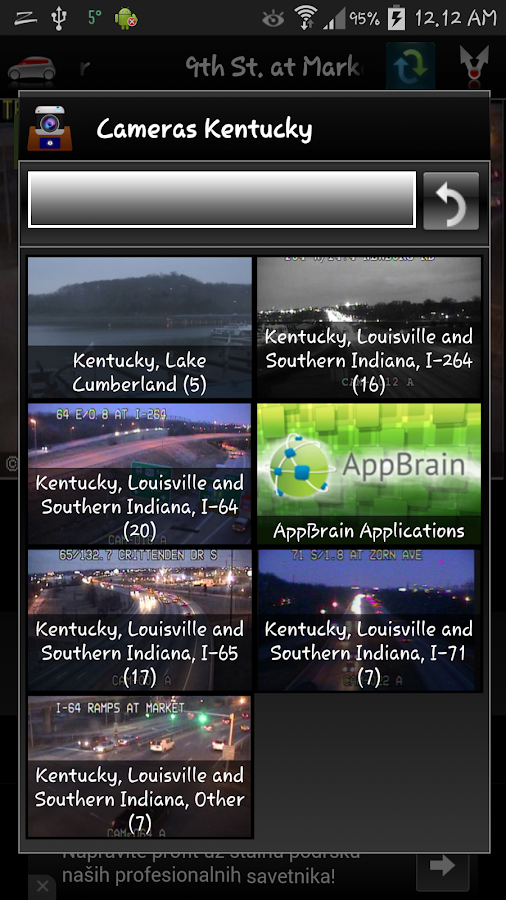 Cameras Louisville & Kentucky - screenshot