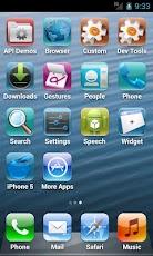 لانشر يجعل جهازك iphone 5 100% باسم : Fake iPhone 5