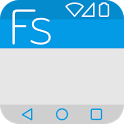 Flat Style Colored Bars icon