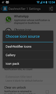 DashNotifier for DashClock - screenshot thumbnail
