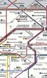 Berlin Metro Map screenshot 2
