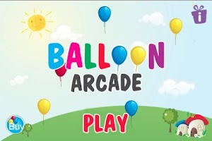Screenshot of Balloon Arcade