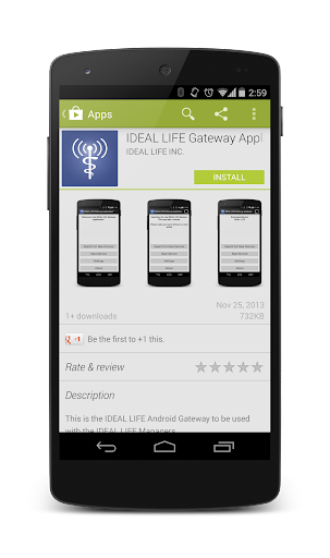 IDEAL LIFE Gateway Application