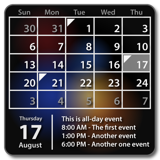 Calendar Widget Month + Agenda file APK for Gaming PC/PS3/PS4 Smart TV