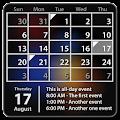 Calendar Widget Month + Agenda download