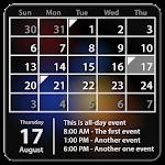 Calendar Widget: Month+Agenda v1.12