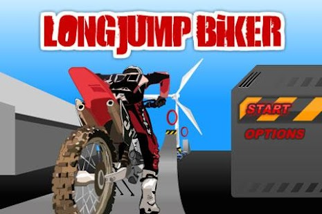 Long Jump Biker- screenshot thumbnail