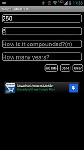 Compound Interest Calculator - screenshot thumbnail
