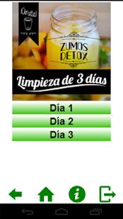 玩免費健康APP|下載Zumos detox - Dieta de 3 días app不用錢|硬是要APP