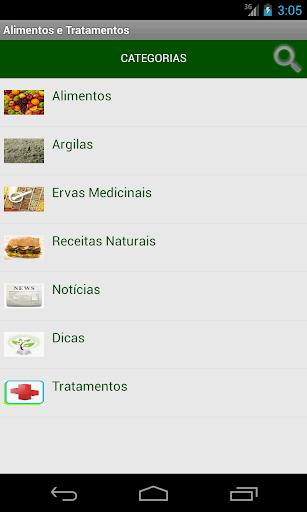 Alimentos e Tratamentos