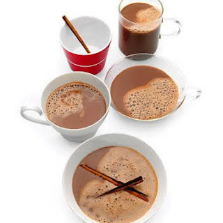 Hot Cocoa with Almond Milk.