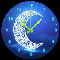 Ramadan Moon Clock icon