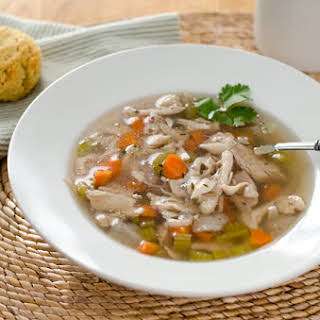 Paleo Crock Pot Chicken Soup.