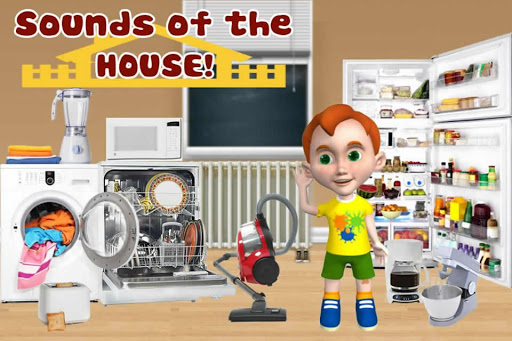 玩教育App|Sounds of the House. - Autism免費|APP試玩